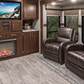 2018 KZ RV Sportsmen 363FL Destination Travel Trailer Entertainment Center