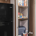 2018 KZ RV Sportsmen 363FL Destination Travel Trailer Pantry