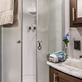 2018 KZ RV Sportsmen 363FL Destination Travel Trailer Shower