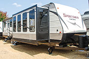 2018 KZ RV Sportsmen 364BH Destination Travel Trailer Exterior