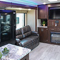 2018 KZ RV Sportsmen 364BH Destination Travel Trailer Entertainment Center