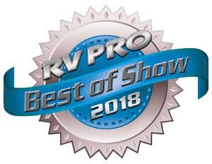 RV Pro 2018 Best of Show Award