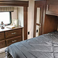2018 KZ RV Sportster 363TH12 Fifth Wheel Toy Hauler Bedroom Closet