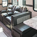 2018 KZ RV Sportster 363TH12 Fifth Wheel Toy Hauler Theater Seating