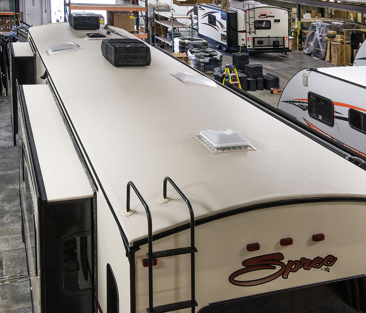 Spree Luxury Lightweight Travel Trailer Features K Z Rv