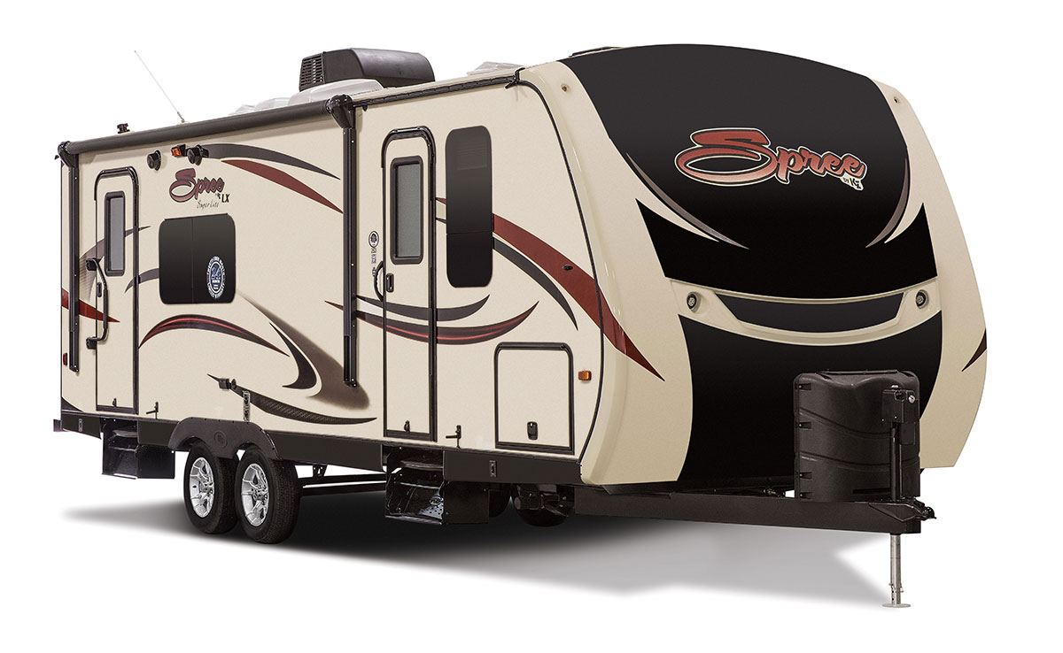 Spree S261rkc Luxury Lightweight Travel Trailer K Z Rv