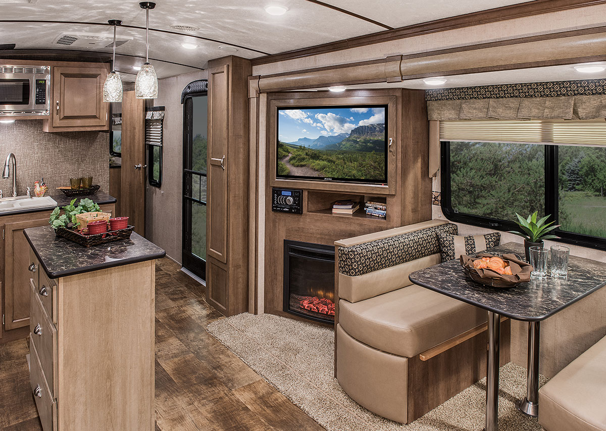 Spree S333rli Luxury Lightweight Travel Trailer K Z Rv