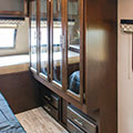 2018 K-Z RV Spree S333RLF Travel Trailer Bedroom Closets