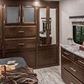 2018 K-Z RV Spree S343RSK Travel Trailer Bedroom Closet