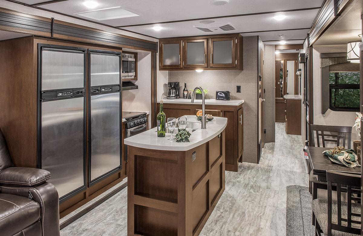 Spree S343RSK Luxury Lightweight Travel Trailer | K-Z RV