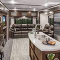 2018 K-Z RV Spree S343RSK Travel Trailer Living Room