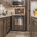 2018 KZ RV Venom V3911TK Fifth Wheel Toy Hauler Kitchen Cabinets