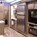 2018 KZ RV Venom V4012TK Fifth Wheel Toy Hauler Entertainment Center in Nighthawk Decor