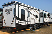 2018 KZ RV Venom V4012TK Fifth Wheel Toy Hauler Exterior