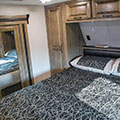 2018 KZ RV Venom V4012TK Fifth Wheel Toy Hauler Bed