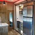 2018 KZ RV Venom V4012TK Fifth Wheel Toy Hauler Kitchen