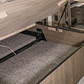 2018 KZ RV Venom V4013TK Fifth Wheel Toy Hauler Bed Storage