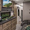 2018 KZ RV Venom V4013TK Fifth Wheel Toy Hauler Bedroom Dresser