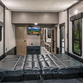 2018 KZ RV Venom V4013TK Fifth Wheel Toy Hauler Cargo Area Dinette Down