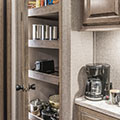 2018 KZ RV Venom V4013TK Fifth Wheel Toy Hauler Kitchen Pantry