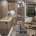 2018 KZ RV Venom V4013TK Fifth Wheel Toy Hauler Theater Seating