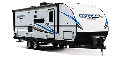 2020 KZ RV Connect SE C231BHKSE Travel Trailer Exterior Front 3-4 Door Side
