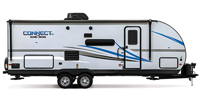 2020 KZ RV Connect SE C231BHKSE Travel Trailer Exterior Side Profile Door