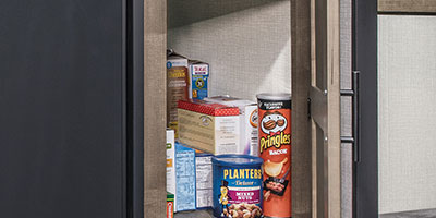 2020 KZ RV Connect SE C231BHKSE Travel Trailer Pantry
