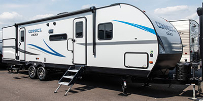 2020 KZ RV Connect SE C312BHKSE Travel Trailer Exterior Front 3-4 Door Side