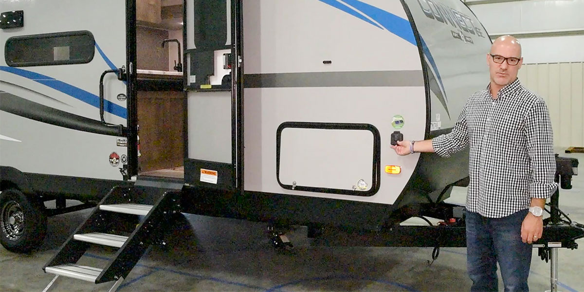 2020 KZ RV Connect SE C231BHKSE Travel Trailer Exterior Features Video
