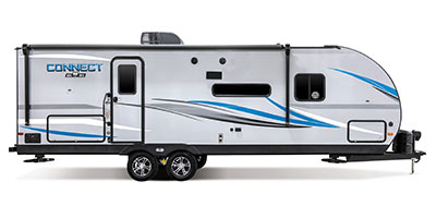 2020 KZ RV Connect C251BHK Travel Trailer Exterior Side Profile Door Side