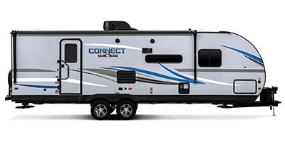 2020 KZ RV Connect C261RB Travel Trailer Exterior Side Profile Door Side