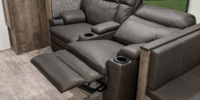 2020 KZ RV Connect C261RB Travel Trailer Theater Seating Left Reclined