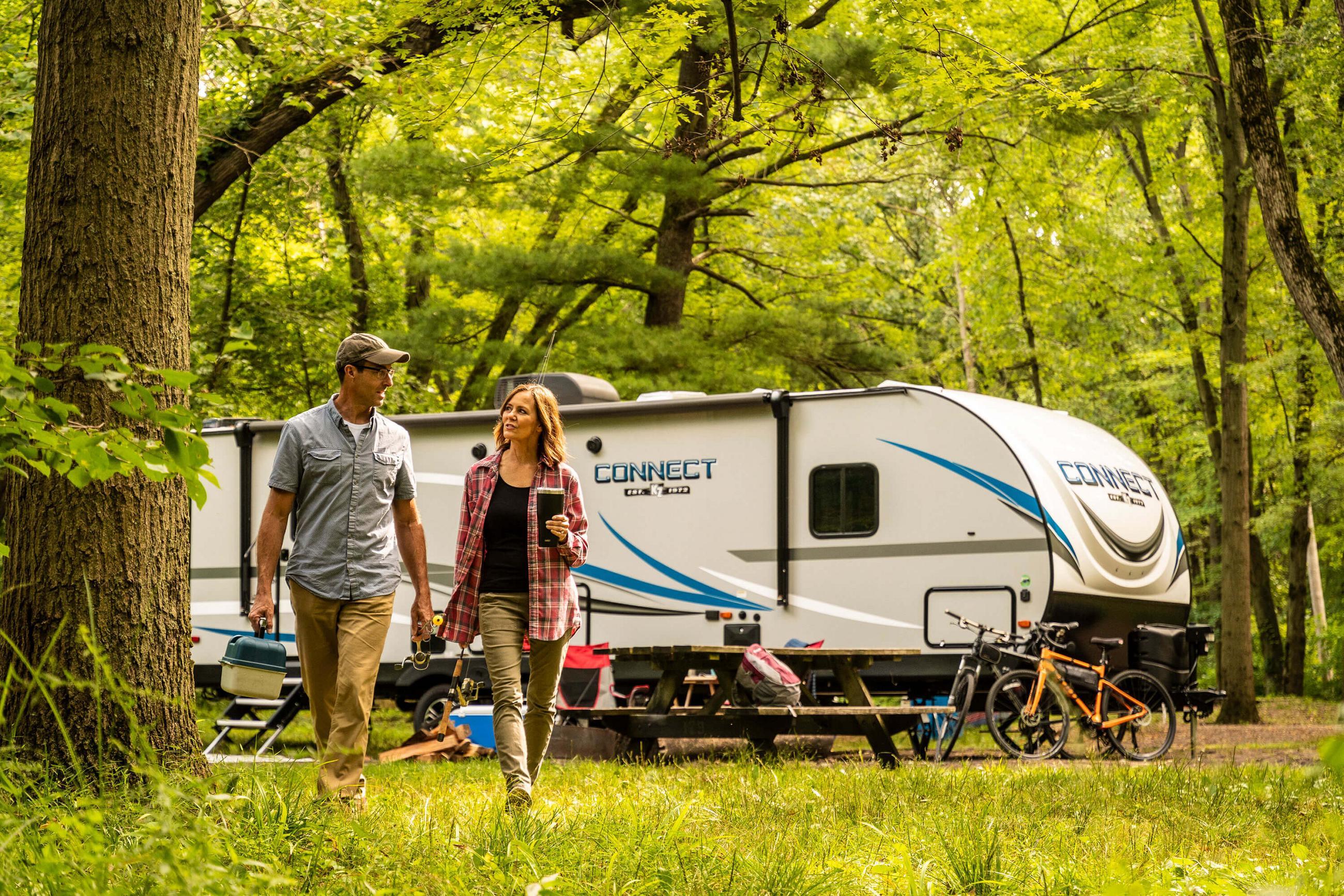 Connect® C261RKK Travel Trailer | KZ RV