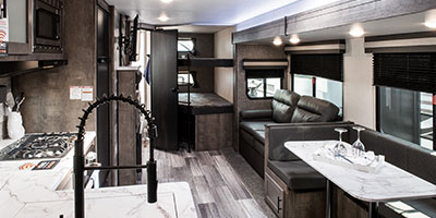2020 KZ RV Connect C291BHK Travel Trailer Living Room