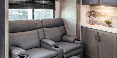 2020 KZ RV Connect C302RIK Travel Trailer Theater Seating