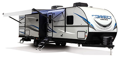2020 KZ RV Connect C332BHK Travel Trailer Exterior Awning