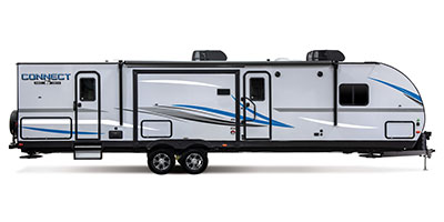 2020 KZ RV Connect C332BHK Travel Trailer Exterior Side Profile Door Side