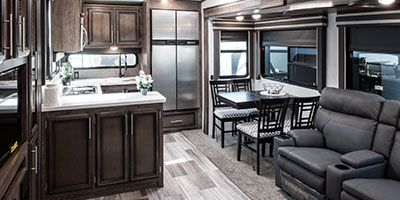 2020 KZ RV Durango D321RKT Fifth Wheel Dinette