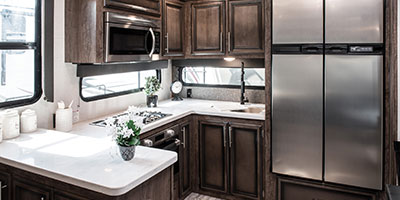 2020 KZ RV Durango D321RKT Fifth Wheel Kitchen