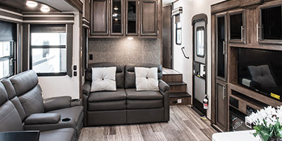 2020 KZ RV Durango D321RKT Fifth Wheel Living Room