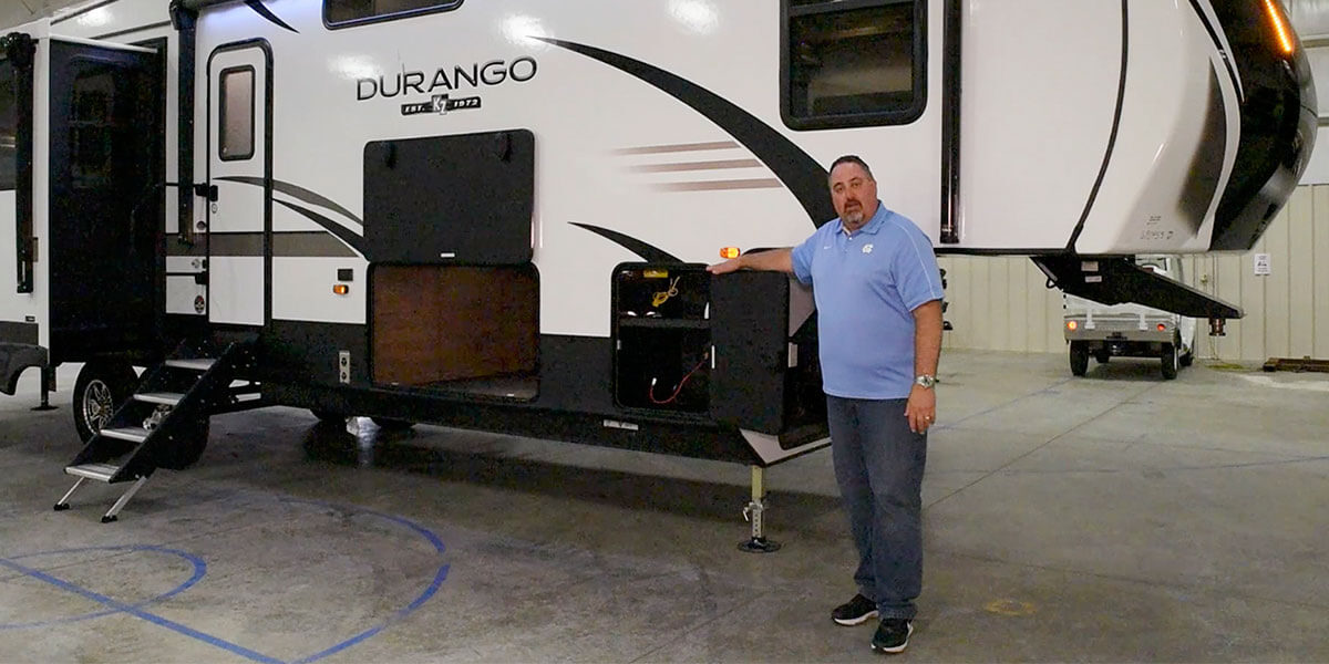 KZ RV 2020 Durango D333RLT Fifth Wheel Exterior Video