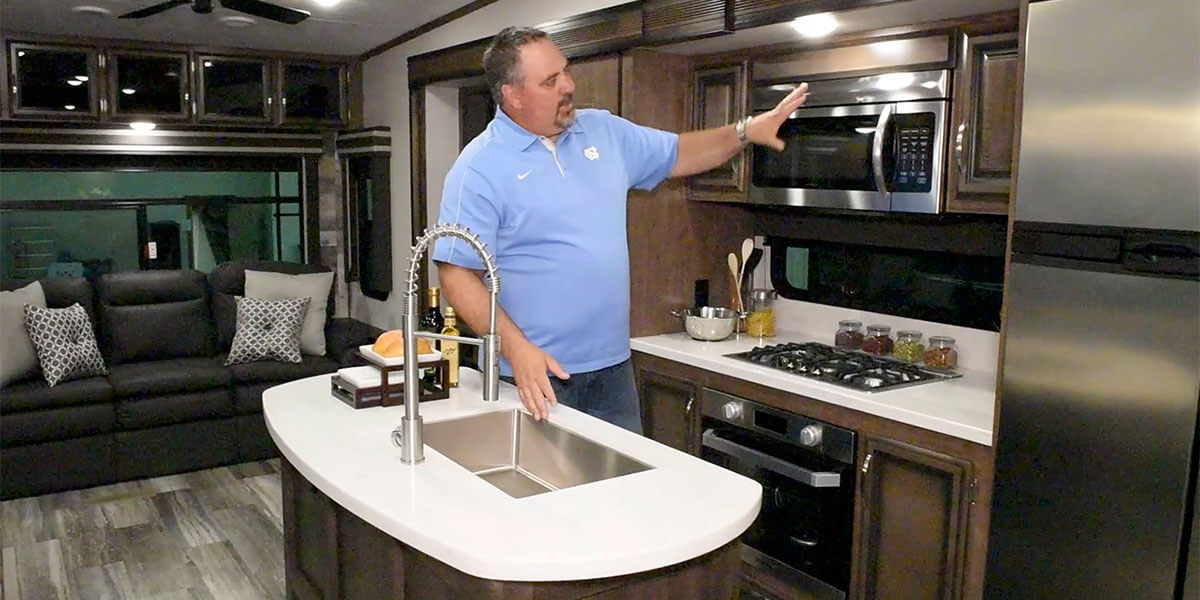 KZ RV 2020 Durango D333RLT Fifth Wheel Interior Video