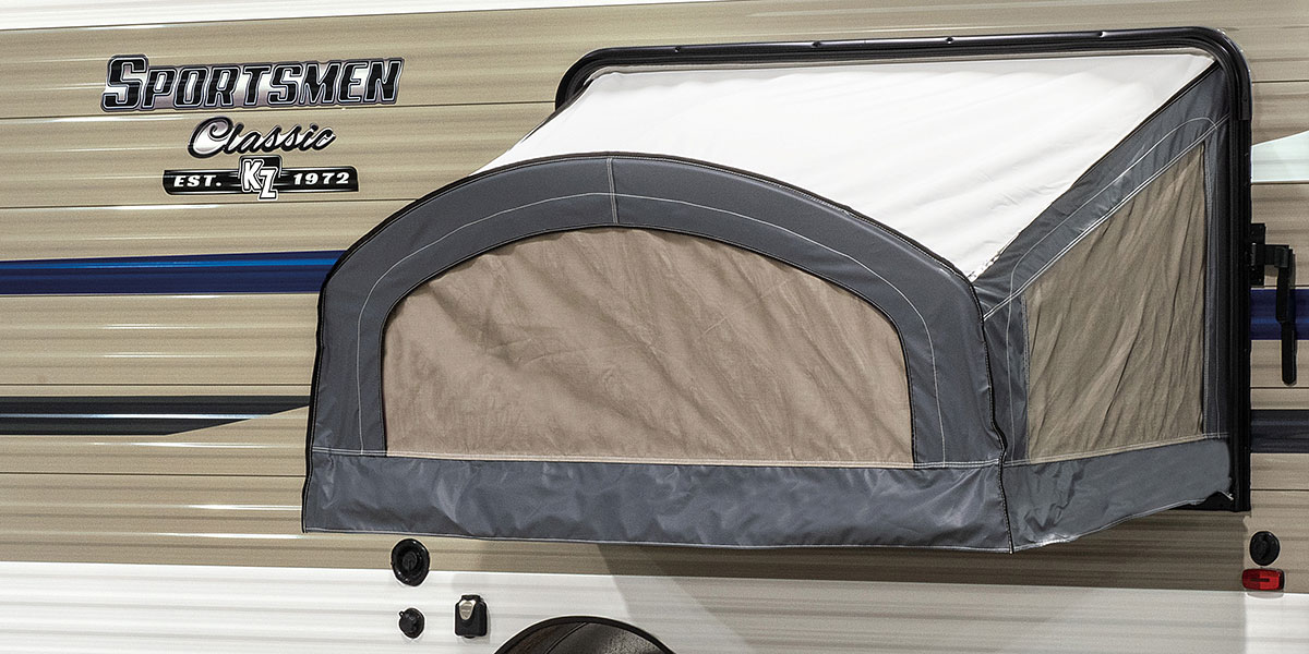 2019 KZ RV Sportsmen Classic 180TH Travel Trailer Toy Hauler Tent Slide Out