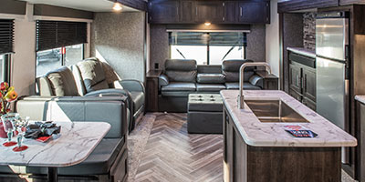 2020 KZ RV Sportsmen LE 303KBLE Travel Trailer Living Room