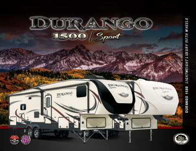 2018 KZ RV Durango 1500 Lightweight Luxury Fifth Wheels Brochure