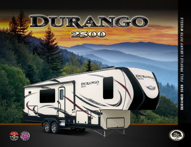 2018 KZ RV Durango 2500 Full Profile Luxury Fifth Wheels Brochure
