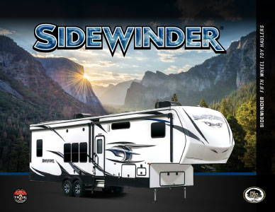 2018 K-Z RV Sidewinder Fifth Wheel Toy Haulers Brochure