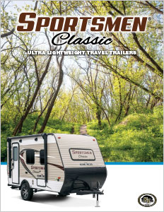 2018 KZ RV Sportsmen Classic Ultra Lightweight Travel Trailers Brochure