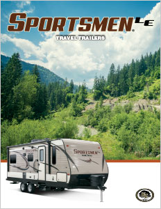 2018 K-Z RV Sportsmen LE Travel Trailers Brochure
